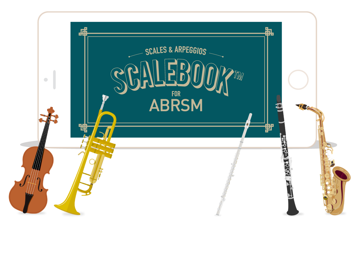 Scalebook for ABRSM